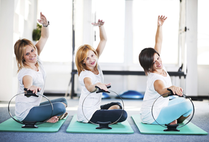 Benefits of Pilates - Women Practicing Pilates